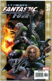 Ultimate Fantastic Four #30 Dynamic Forces Signed Land DF COA Ltd 45 Marvel Zombies comic book